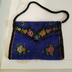 Handbags - Amazing vintage beaded small bag
